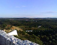 Vista do Castelo do Crato