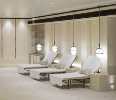 1508 London designed the new Lanesborough Club & Spa to promote pure relaxation.