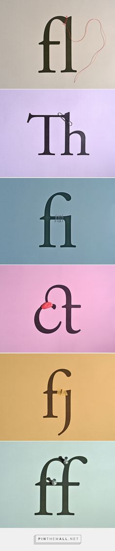 how to make a ligature «  plenty of colour - created via https://pinthemall.net