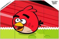 Envelope Convite Angry Birds