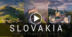 Travel Destination Videos - Slovakia - TOP 12 places you need to see Travel Around The World, Around The Worlds, Best Tourist Destinations, Heart Of Europe, Travel Videos, Central Europe, Bratislava, Where To Go, Family Travel