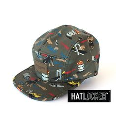 City Hunting 5 Panel by Obey   www.hatlocker.com #obey #5panel #hunting
