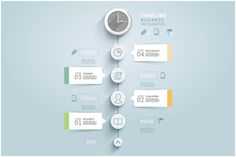 Check out Timeline Infographic Template by Graphixmania on Creative Market