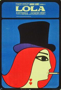 Lola, 1961. Polish Poster by Maciej Hibner