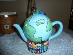 Save the Children teapot
