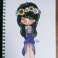 Aphmau in her wedding dress in Minecraft diaries Minecraft Drawings, Minecraft Anime, Minecraft Characters, Minecraft Videos, Youtube Drawing, Aphmau Fan Art, Just In Case, Youtubers, Art Drawings