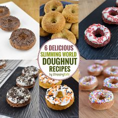 Try these six amazing and delicious Slimming World Doughnut recipes - as good as the real thing and you won't feel guilty afterwards!