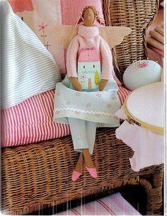 Кукла Тильда. Ангел домашнего уюта