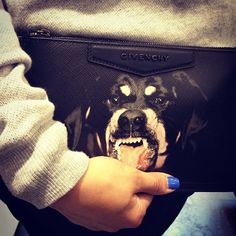 So Gangsta - Givenchy Rottweiler Print Zip Pouch Wallet