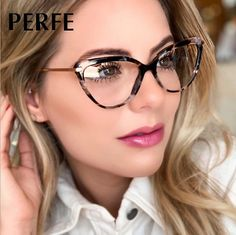 1 Optical glasses(Not contain boxes and other accessories). Lens width: about 56 mm. Lens height:about 48 mm. Retro Eye Glasses, Cute Glasses, Fashion Eye Glasses, Cat Eye Glasses, New Glasses, Womens Glasses Frames, Designer Glasses Frames, Eyeglass Frames For Men, Computer Glasses