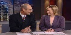 Kochie and Mel's first day together in 2002!