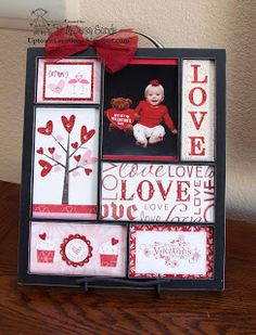 Stampin Up! Valentine Tray!   Cute project!
