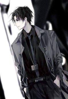 Hot Anime Boy, Black Hair Anime Guy, Black Hair Boy, Dark Anime Guys, Cool Anime Guys, Handsome Anime Guys, Anime Boys, Anime Art Girl, Anime Sexy