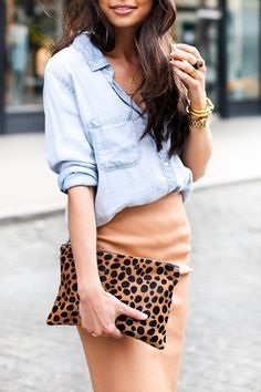 Friday Favorites: Leopard Clutch - Mindy Mae's Market