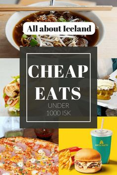Eating in Iceland can be expensive. We are here to help! These bargain meals are great options for budget friendly eating in Reykjavík.