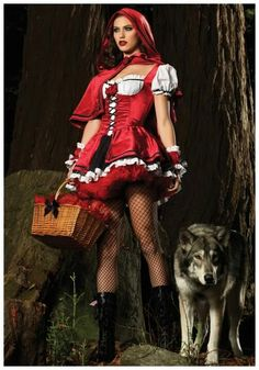Red riding hood all grown up