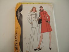 McCall's Pattern 3753 size 16 cut and by KalimahsKreationsLLC