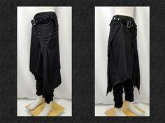 【楽天市場】ゴスパンク ゴシック v系 フラップ シャーリングパンツ 黒:PARROT
