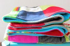 Villa Lisa - Recycle fleece patchwork deken
