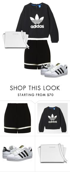 """""""Untitled #6"""" by marcabaceira on Polyvore featuring Alexander Wang, adidas, adidas Originals and Michael Kors"""