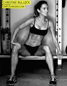 Christine Bullock's fitness plan and nutrition