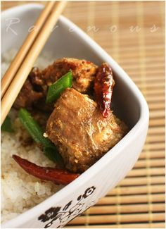 Spicy Lemongrass Chicken(Ga Xao Xa Ot)...a favorite in our Swedish/Asian/Scottish/French Heinz 57 household.