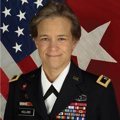 Brigadier General Diana Holland