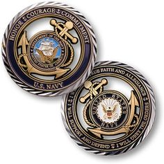 Core Values U.S. Navy Military Coin $12.00