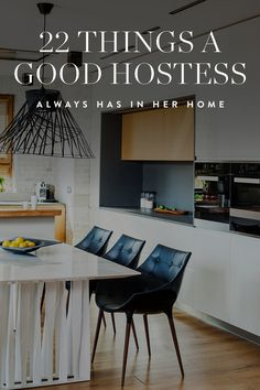 There's always that one person who, no matter what, has a warm and welcoming home. Her secret? These 22 hostess essentials. — via @PureWow