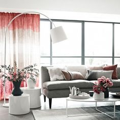 dip dyed ombre curtain DIY Dyeing: Natural Dyes for an Organic Approach to Life and Decor