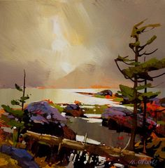 Hotsprings Island, Q.C., by Michael O'Toole