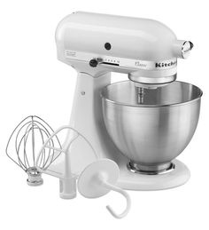KitchenAid® Classic Series 4.5-Quart Tilt-Head Stand Mixer - at $229.99, a Cooks Illustrated Best Buy