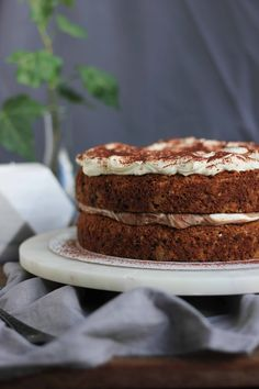 Banana, Nutella & Cream Layer Cake | Butter Baking