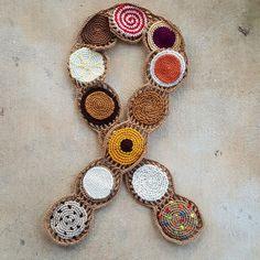 crochet cookie crochet scarf ready to wear, crochetbug, crochet cookie, crochet circle, crochet circles, crocheted, crocheting