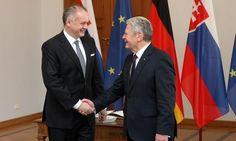 Kiska in Germania con il presidente Gauck: la perdita di fiducia nell'UE è colpa dei populisti