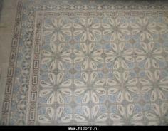 Oude,antieke vloertegels C75. Collectie FLOORZ Antique floor tiles. Collection FLOORZ