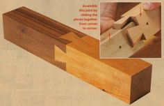 PRESS A DOVETAILED BOARD into another board with matching sockets, and you've created woodworking's most iconic joint. The dovetails and sockets wedge the boards together, so the joint can't pull apart; the only way to disassemble it is it is to lift the dove-tailed board back out of the sockets. So, what if you can't … Continue reading Lessons/Guides – Mystery Dovetails