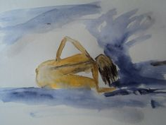 naked women in water colour