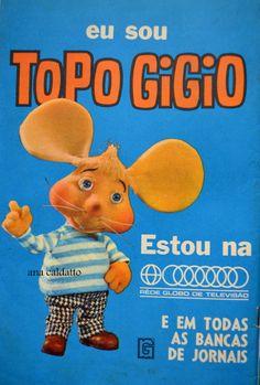 Ana Caldatto : Antigo Boneco Topo Gigio