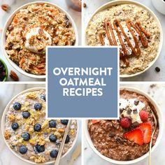 Overnight Oat Recipes- 6 Ways