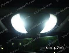 信頼の日亜化学工業LEDを使用。2002~2006年式まで対応SL-Class(R230)専用設計となります。 http://www.pinpoint-led.com/product/54