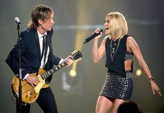 "2017 CMT Awards - Keith Urban and Carrie Underwood performing at the event, ""The Fighter,"" which they WON the award Collaboration Video Of The Year for this video."