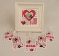 April Paper Pumpkin- Framed Love- Changed colors- Smoky slate and Rose Red : Diane's Blog
