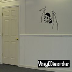 Skull Wall Decal - Vinyl Decal - Car Decal - CF448