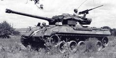 M-18 Hellcat Tank Destroyer. The Fastest AFV in all of WW2. Could go 60 mph on good roads