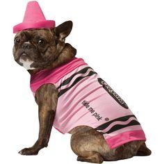Pet Costume Crayola Pink