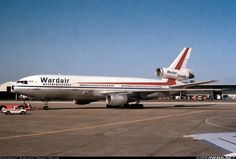 Wardair Canada McDonnell-Douglas DC-10-30 Canadian Airlines, Passenger Aircraft, Commercial Aircraft, Civil Aviation, Bus, Aircraft Pictures, Science And Nature, Airplanes, The Past