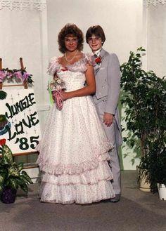 'I gotta date' 80s Prom Photo