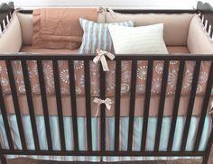 Honey Marcel Boy Crib Bedding Set