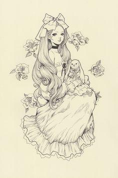 artforadults.tumblr.com/post/79260922958/yasahime-ink-drawings-on-storenvy